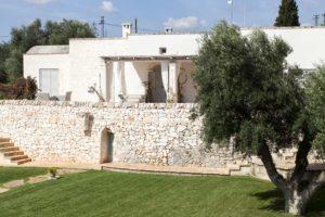 Giardino con ulivo design Villa Ceglie Messapica #6