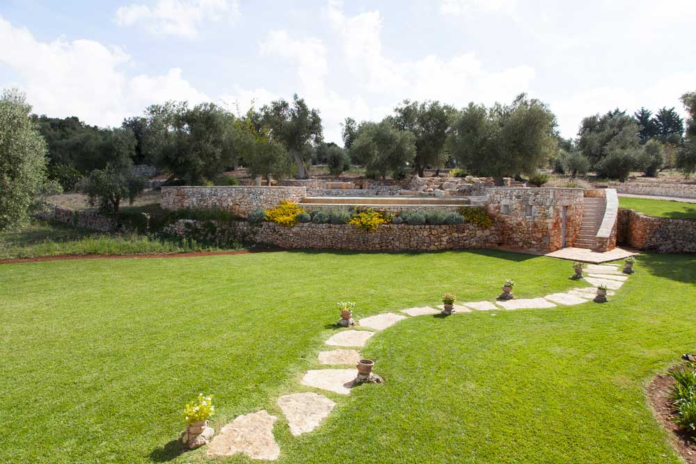 Giardino mediterraneo Villa Ceglie Messapica #6