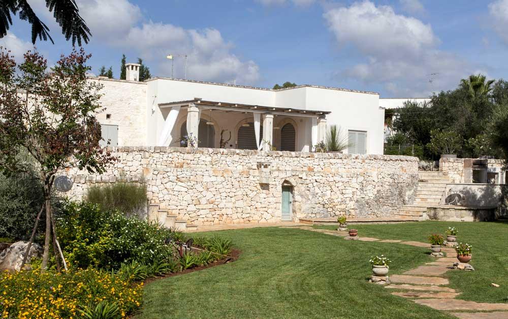 Progetto Giardino Villa Ceglie Messapica #6