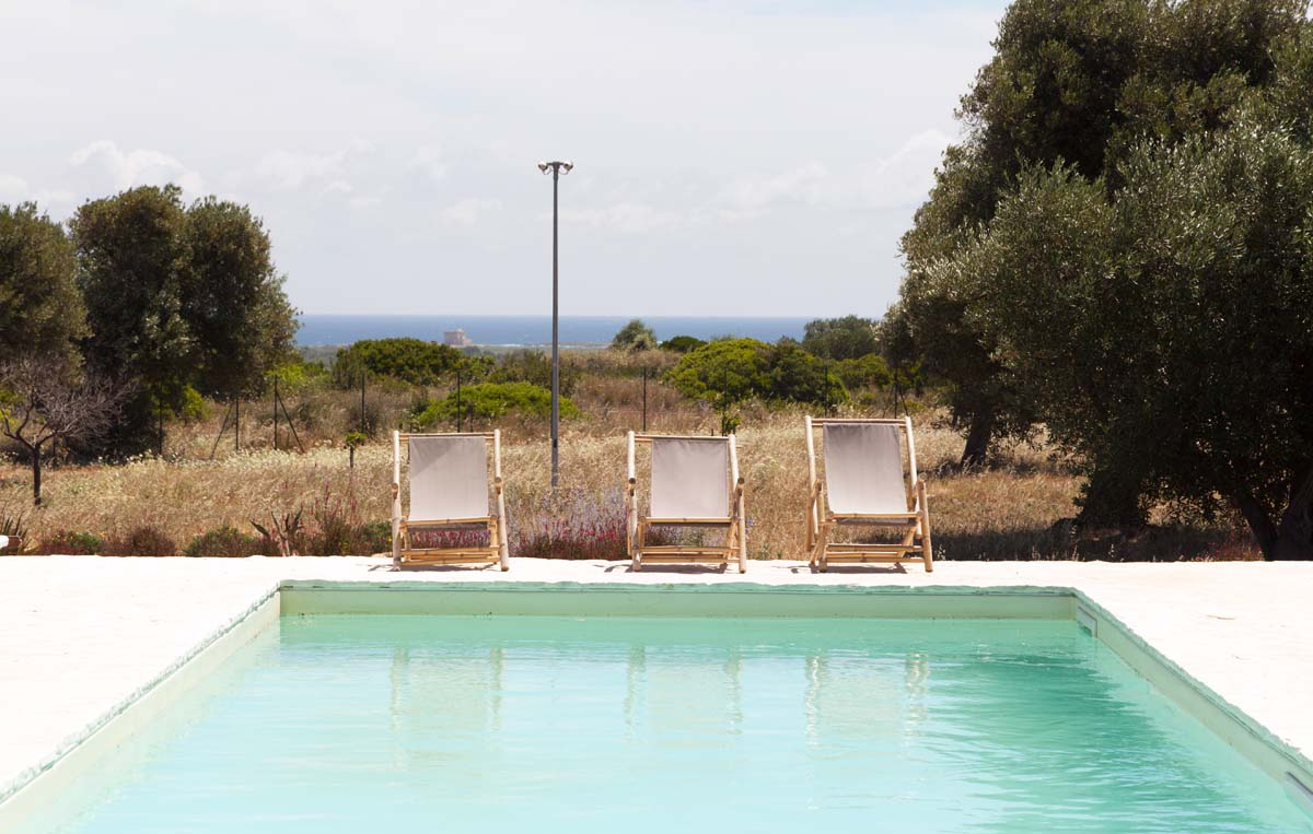 Giardino mediterraneo Piscina Villa Ceglie Messapica #7