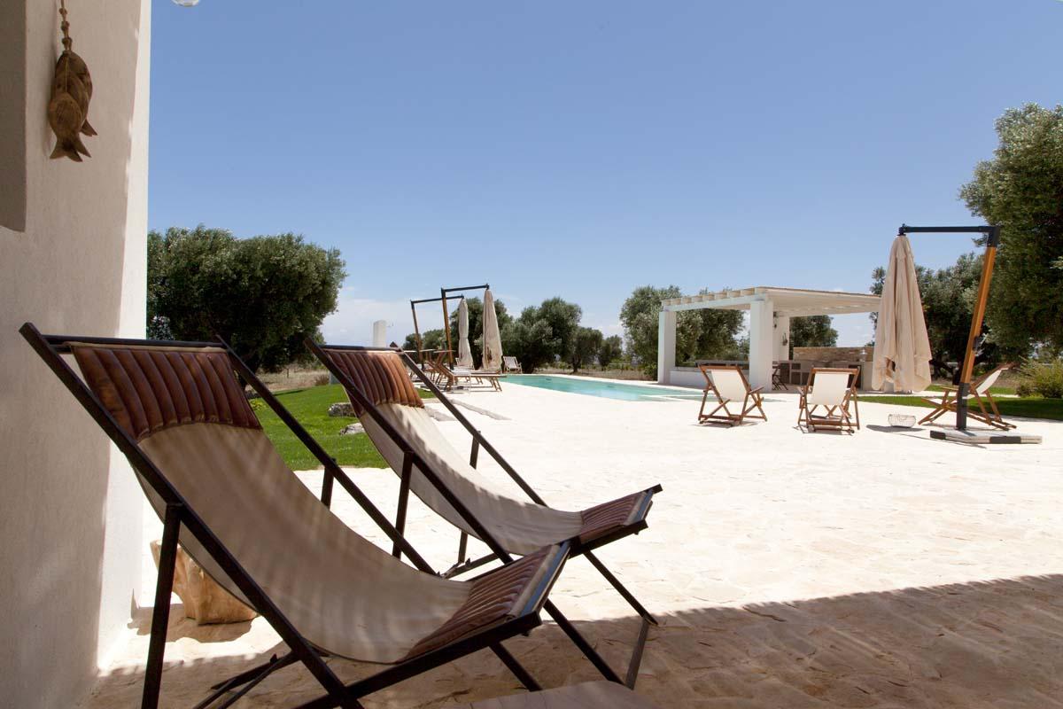 Progetto giardino piscina Ceglie Messapica #7