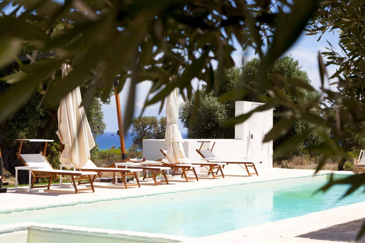Progetto giardino con piscina Ceglie Messapica #7