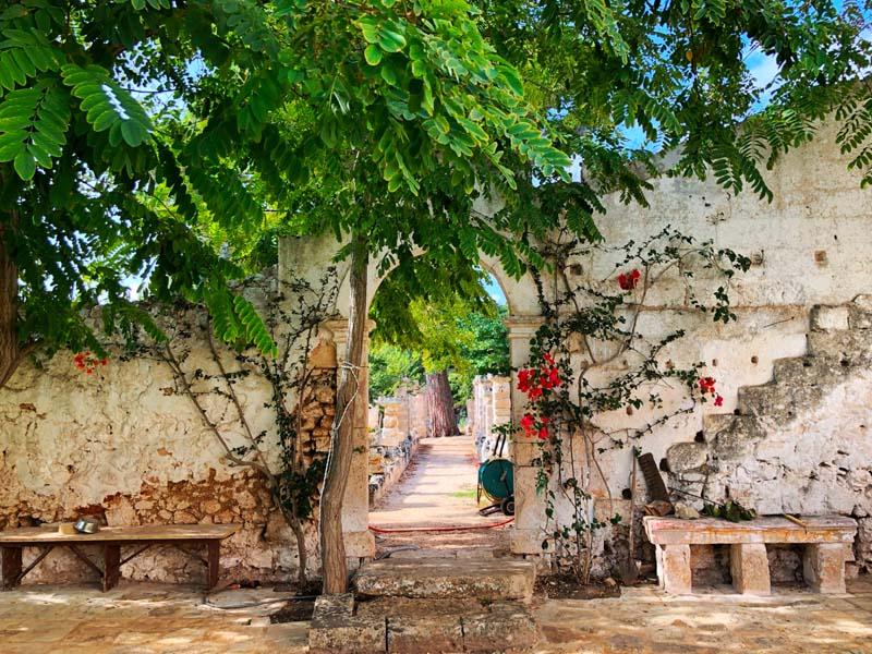 Giardino esterni design antica masseria Ostuni #9