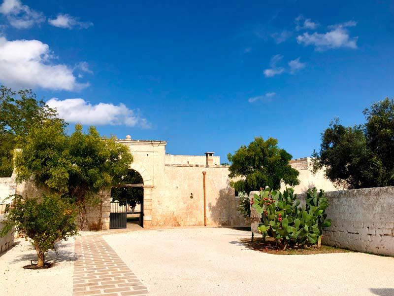 Giardino antica masseria Ostuni #9