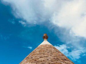 Giardino con trulli villa Cisternino #10